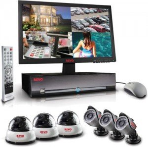Home Security System with Video Surveillance